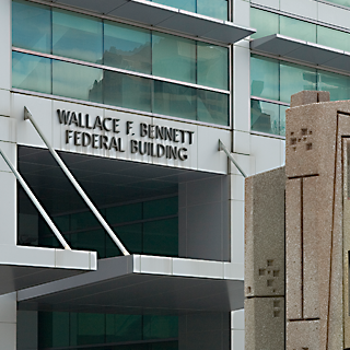 Wallace F. Bennett Federal Building in Salt Lake City