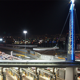 Lighting at the San Ysidro Land Port of Entry