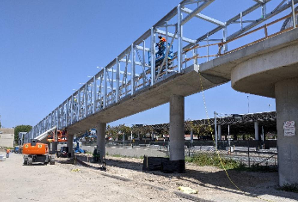 Otay Mesa Pedestrian Bridge